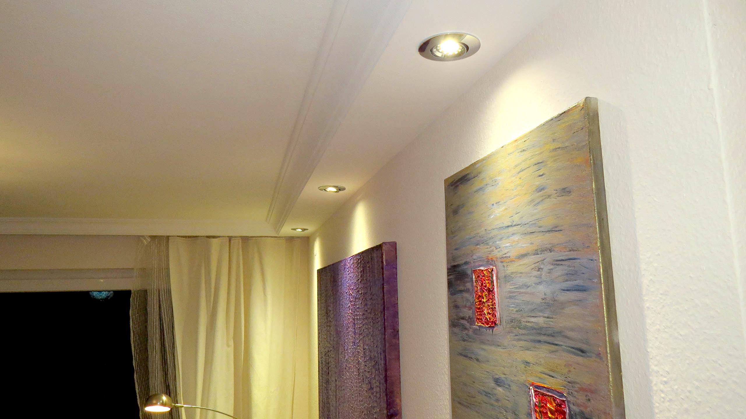 Lichtbalken für den Einbau von Spots