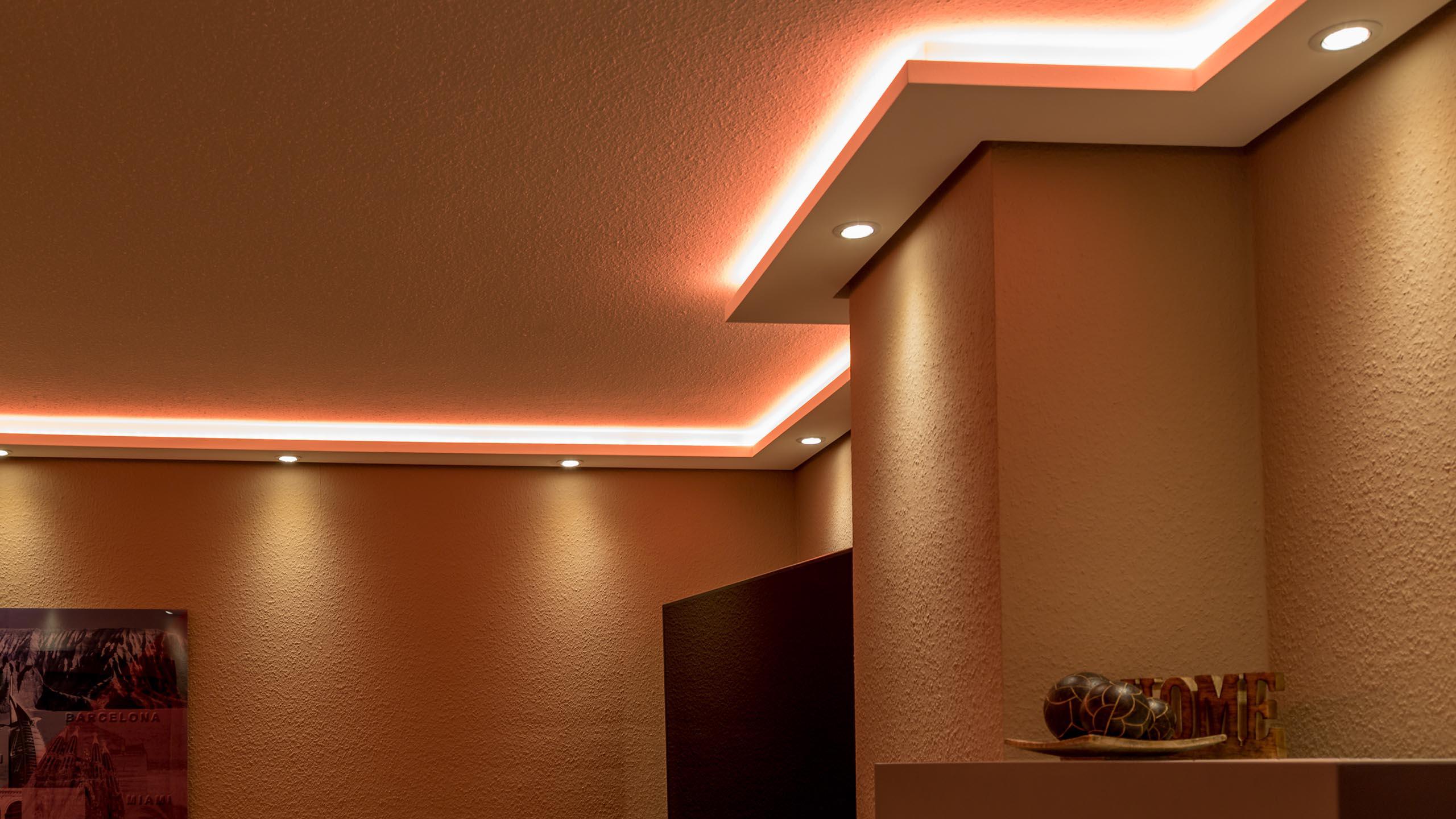 Lichtprofile für Spots und LED-Bänder
