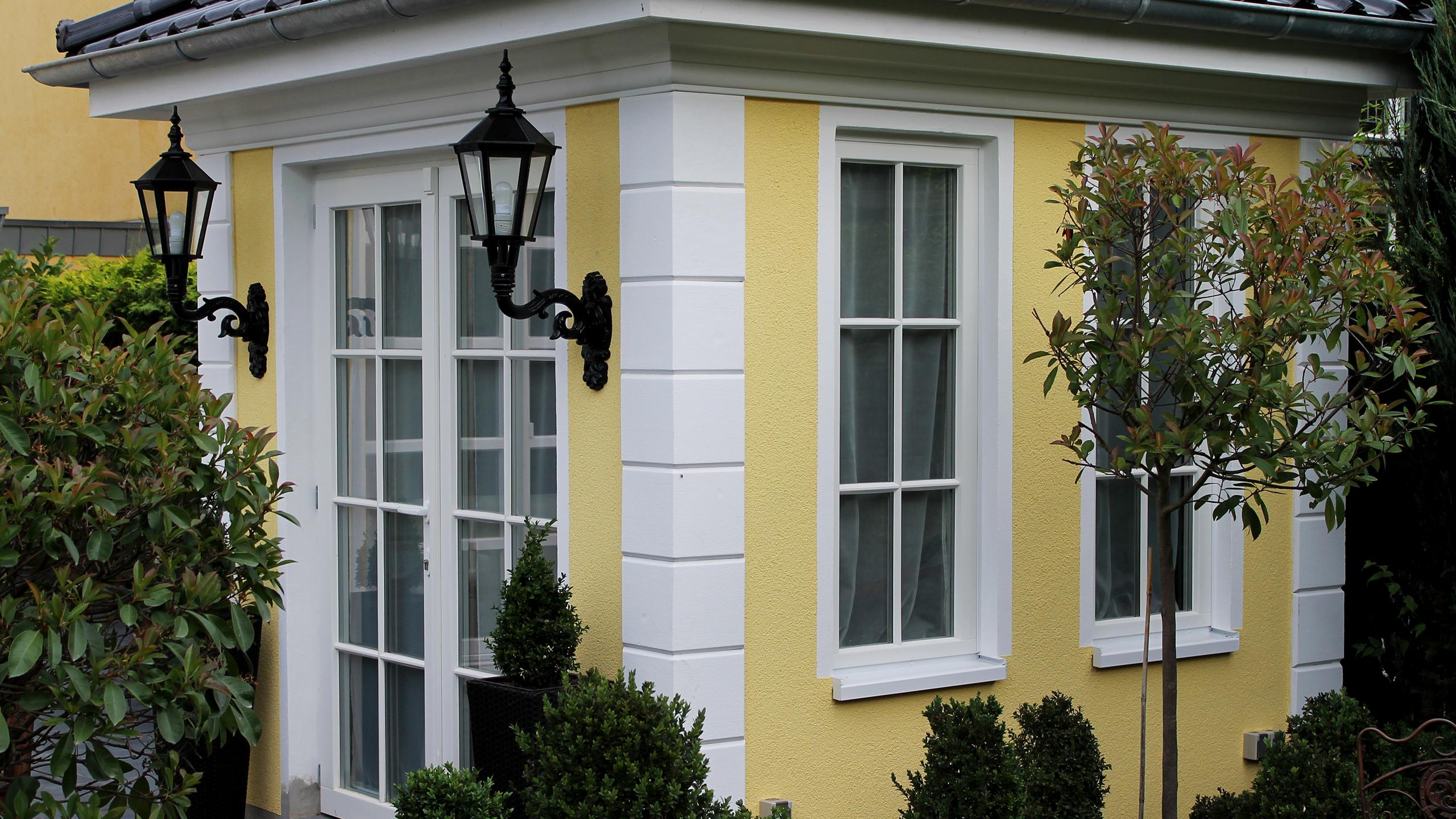 fassadenprofile und dekor f r die fassadengestaltung bendu. Black Bedroom Furniture Sets. Home Design Ideas